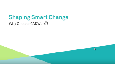 shaping smart cadworx